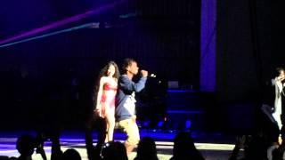 """Nicki Minaj & Rae Sremmurd """" Throw Sum Mo  """" Pinkprint Tour NJ"""