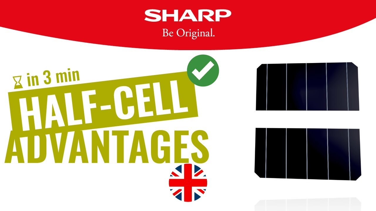 SHARP Half-Cell PV Solar Panels