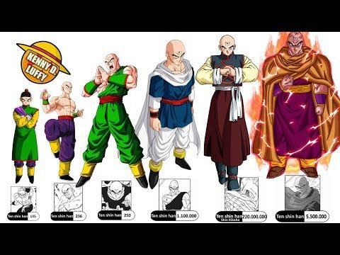 Todos Los NIVELES De PODER De TENSHINHAN Hasta Dragon Ball Super - EXPLICACIÓN COMPLETA