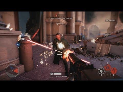 RAW STAR WARS BATTLEFRONT 2 GAMEPLAY