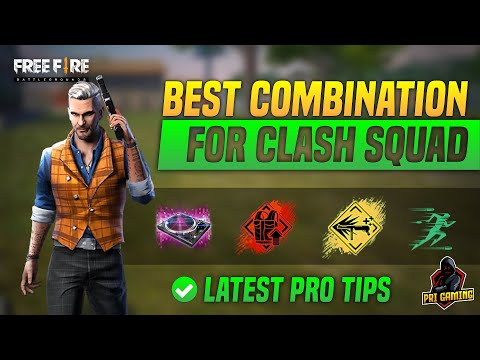New Latest Character Skill Combo for Clash Squad After Update for Mobile : Freefire Battlegrounds