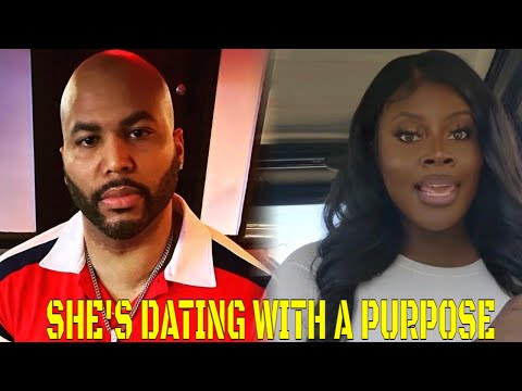 """She's """"DATING WITH A PURPOSE"""" LOL!!"""