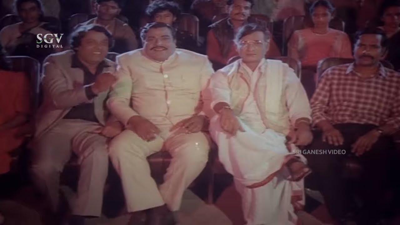 Doddanna Comes to Fashion Queen Contest | Mukyamanthri Chandru| Central Rowdy Kannada Movie Scene