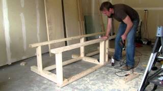 Building A Diy Workbench - Part 2 - By Ed