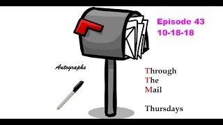 TTM Thursday Episode 43 ( 3 baseball returns)