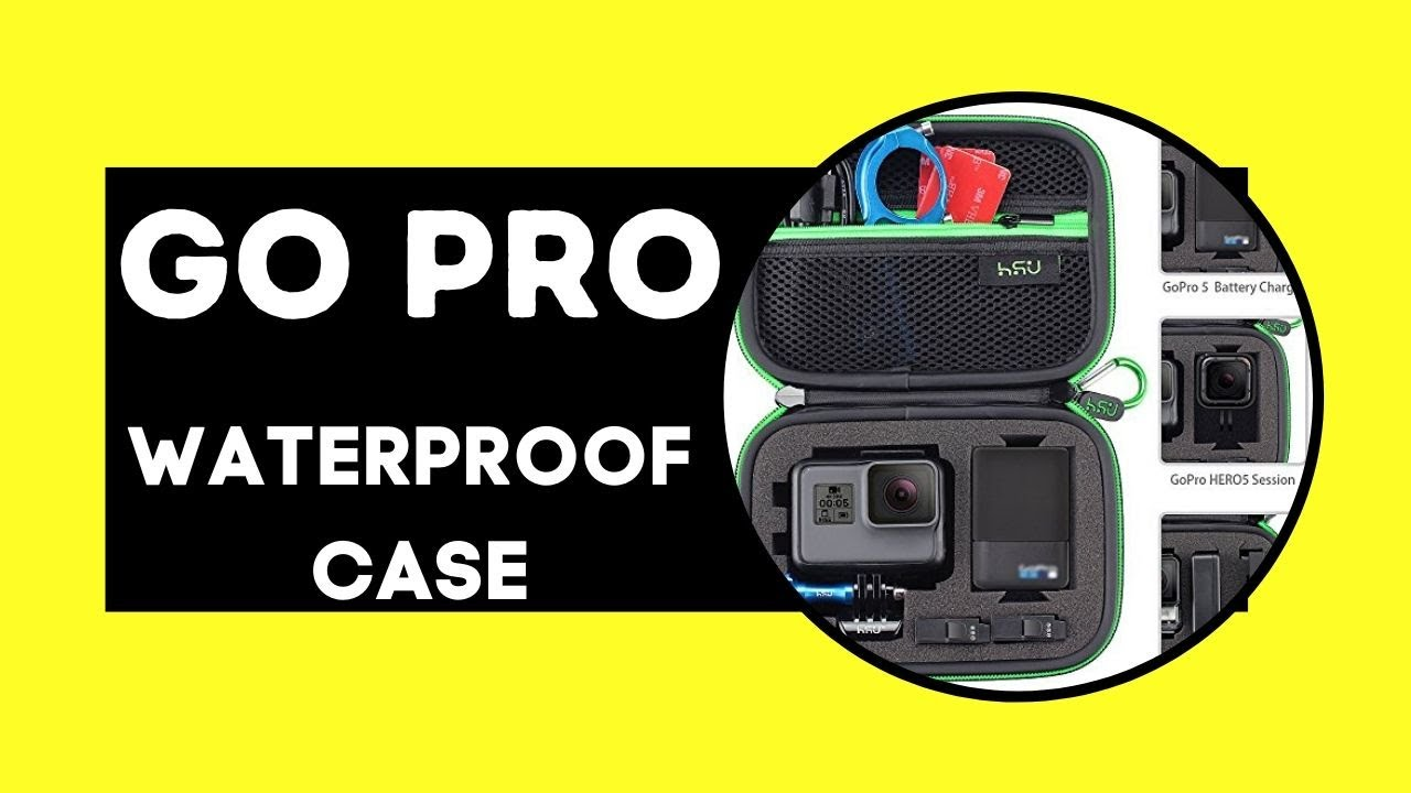 Best Gopro Waterproof Case With Mount India 2020