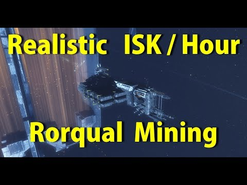 Realistic ISK/Hour mining in a Rorqual