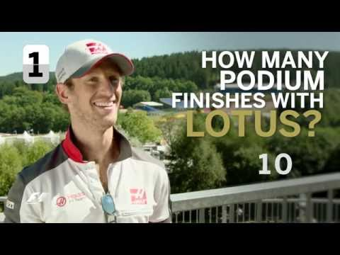 Grill The Grid - Romain Grosjean