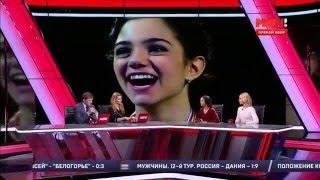 Евгения МЕДВЕДЕВА и Анна ПОГОРИЛАЯ
