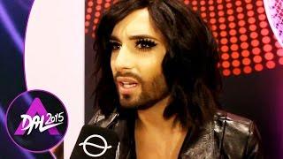 Exkluzív interjú Conchita Wursttal - Magyarokkal készül döntős meglepetésre (Eurovision 2015)