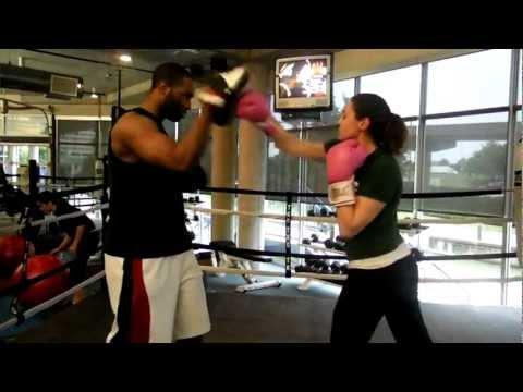 Brandon Parraway and Estefania boxing training.MP4