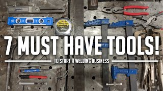 Start Your Welding Business With These Tools!