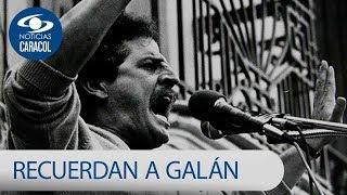 Así recuerdan a Luis Carlos Galán en su natal Bucaramanga