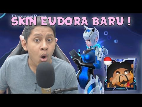 SKIN BARU EUDORA DAPET GRATIS BORDER CUY !  - Mobile Legends Indonesia