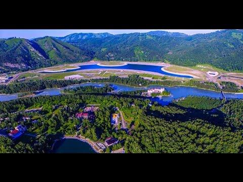 Алтай 4к, Горноалтайск, бирюзовая катунь, озеро Ая