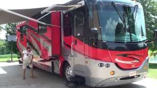 hd video 05 coachmen sportcoach elite m 402 ts motor home rv for sale see www sunsetmilan com