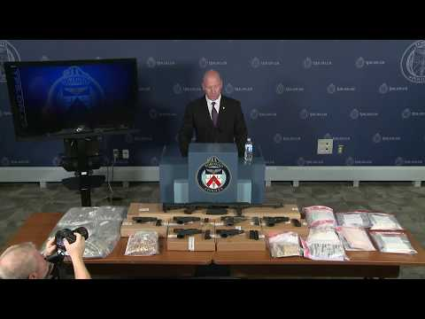 @TorontoPolice Project Moses News Conference