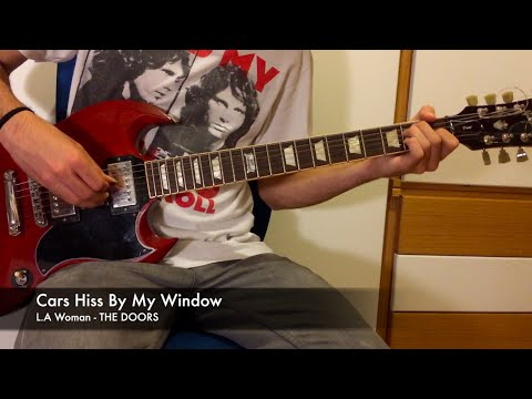 Cars Hiss By My Window - Guitar Tutorial