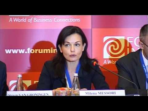 Milena Messori, Head of Bucharest Office, EIB, at Forum Invest FINANCE 2011