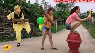 Top New Comedy Videos 2020 😂 😂 Try Not To Laugh - Episode 21 - Sun Wukong