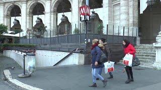 Roma, stazioni metrò Spagna e Repubblica ancora chiuse. Barberini riapre solo in uscita
