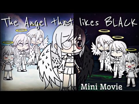The Angel That Likes Black | Mini Movie | Gachaverse ❤️