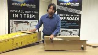 How to set up a RocknRoller® Multi-Cart® - Assembly Tutorial