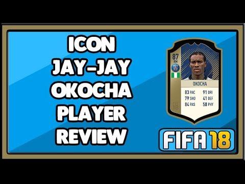 FIFA 18 ICON JAY-JAY OKOCHA PLAYER REVIEW (87)