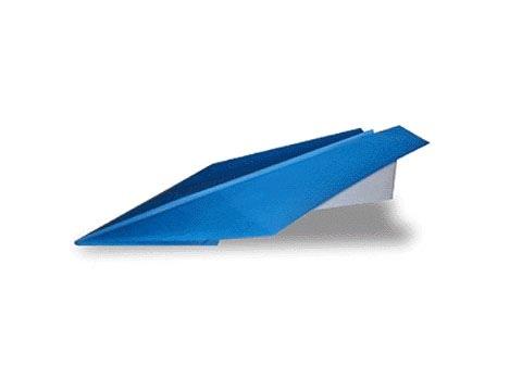 Cách gấp, xếp máy bay giấy phi xa, bay lâu, cao origami - Kiểu 1