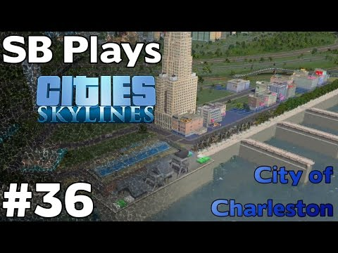 Developing the Seafront - SB Plays Cities Skylines ep36