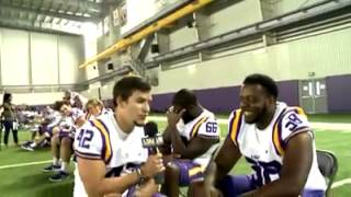 LSU football funny interview by kickers