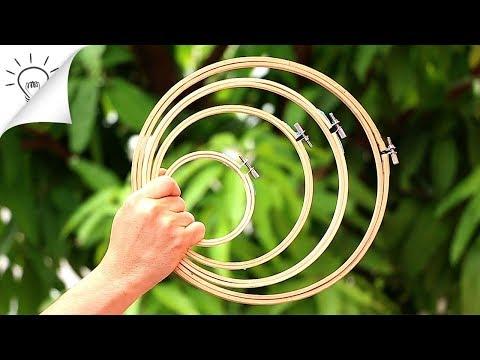 7 kreative Ideen mit Holzringen