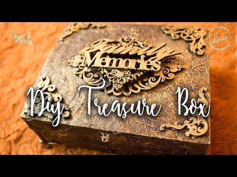 DIY Treasure box tutorial [Antique / Vintage look] Start to end video