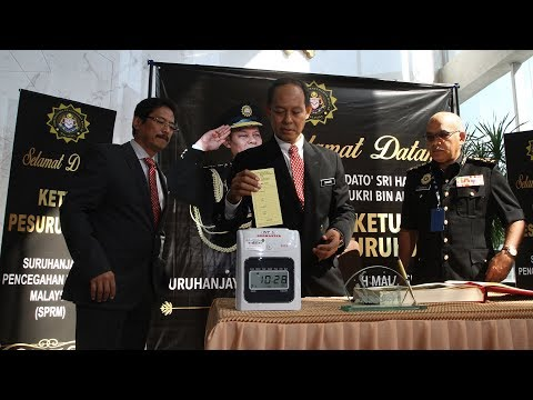 New MACC chief reports for duty
