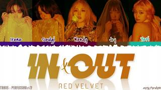 Gambar cover RED VELVET (레드벨벳) - 'IN & OUT' Lyrics [Color Coded_Han_Rom_Eng]