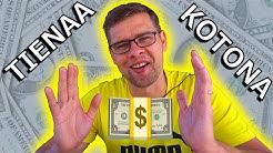Kuinka RAHAA ansaitaan netistä - tienaa rahaa kotona (viisi vinkkiä)