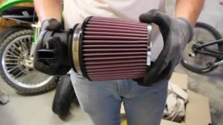 Installation d'un filtre K&N sur BMW E90 318i