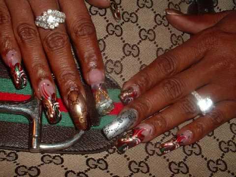 Fierce Fingernail Nail Art Gallery Video - YouTube
