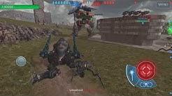 War Robots Toxic Spider Healing Spider Skirmish Mode Gameplay