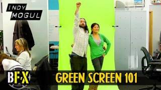 Green Screen On The Go : Bfx : Build