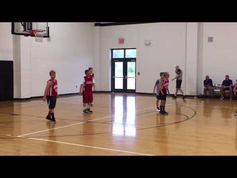 Jr's First Algood Middle School Basketball Game- 5th graders