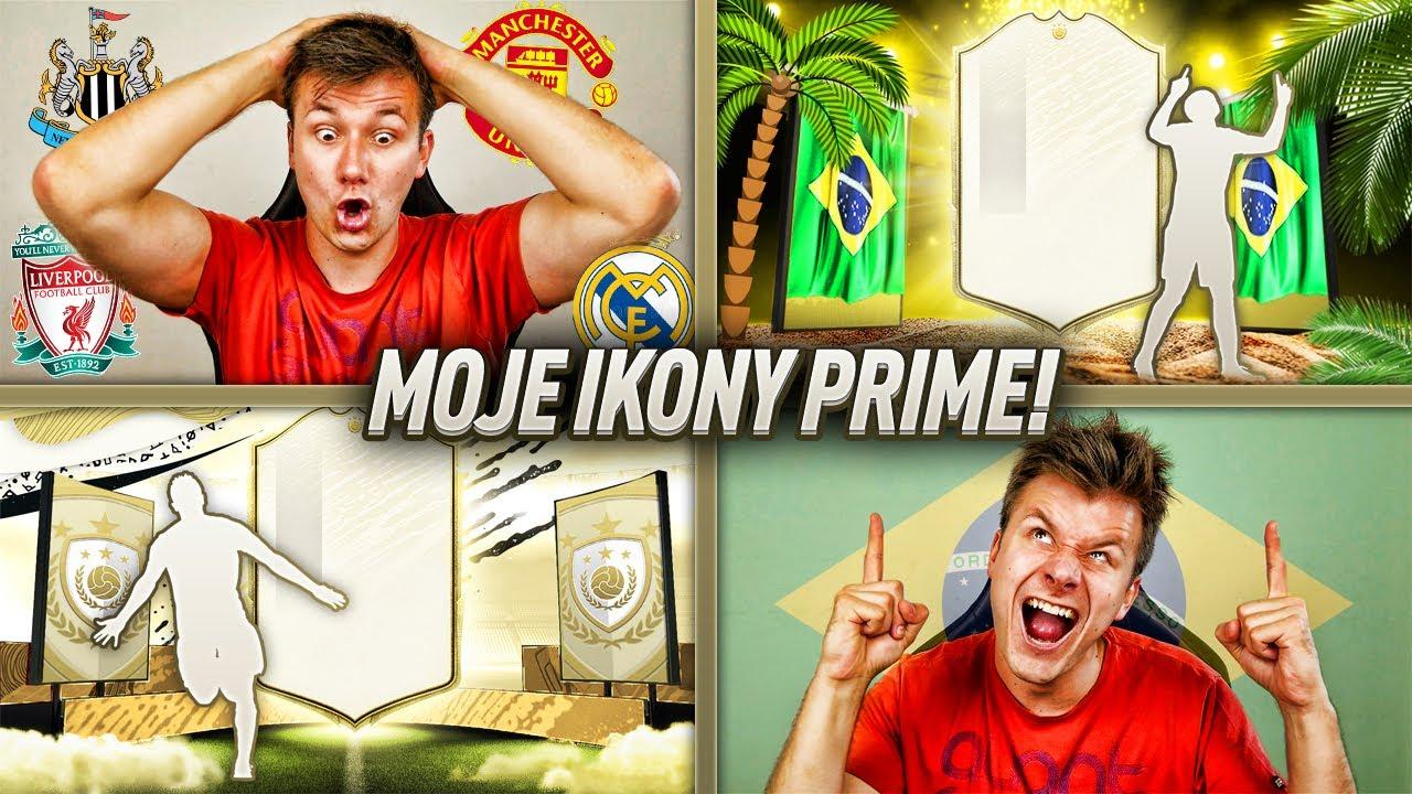 MOJE IKONY PRIME! Ulala, CO ZA PACZKI! | FIFA 20