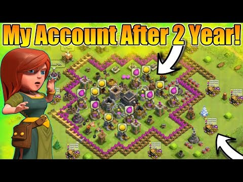 Opening My Clash Of Clans 3rd Account After 2 Years😲 | And I Have Ice Wizard😍