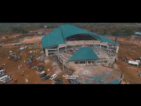 Luli Concert Family at Imeko 2017 (Aerial view of the Basicila under construction)