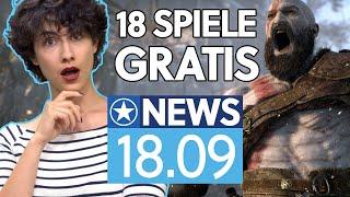 God of War, Last of Us und mehr gratis mit PS Plus für PS5-Besitzer - News