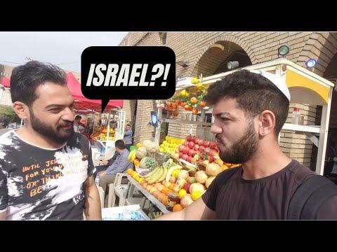 IRAQ: Telling Random Strangers I'm ISRAELI and JEWISH (Social Experiment) 🇮🇶