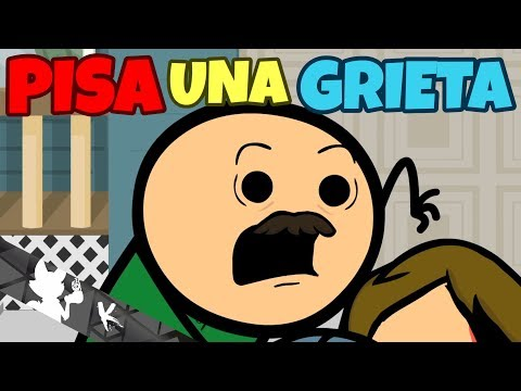 Step On A Crack - Cyanide & Happiness Shorts [ESPAÑOL]
