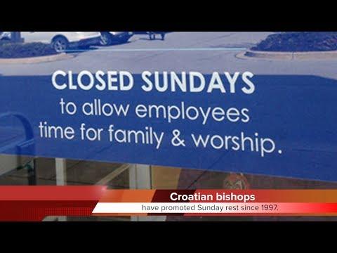 KTF News - Croatian Bishop's Conference  Ban Work on Sundays