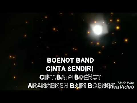 BOENOT BAND - CINTA SENDIRI