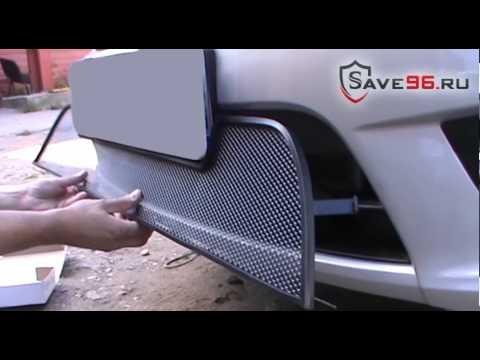 Защита радиатора на Lada Granta (Лада Гранта) 2014-2017 г.в. (седан, лифтбек)